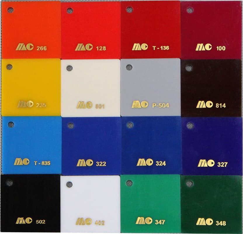 acrylic color photo acrylic sheet selection - Plexiglas Color