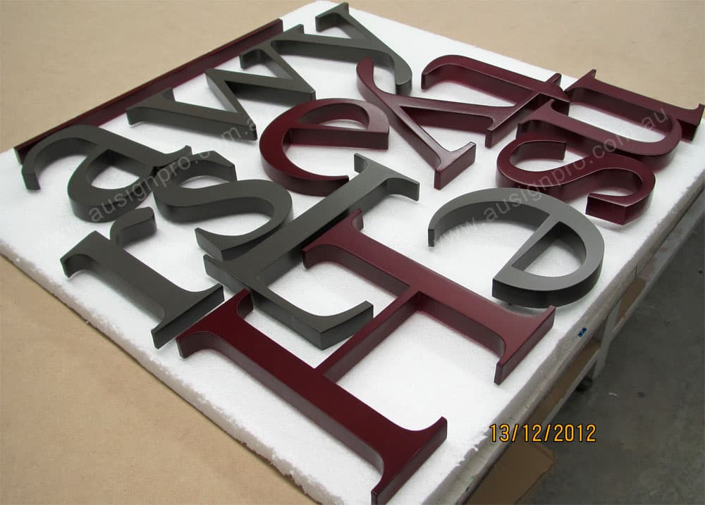 plastic letters for signs painted acrylic letter perspex letter melbourne australia 24014 | acrylic lettering painted