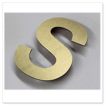 brush-gold-sign-letters