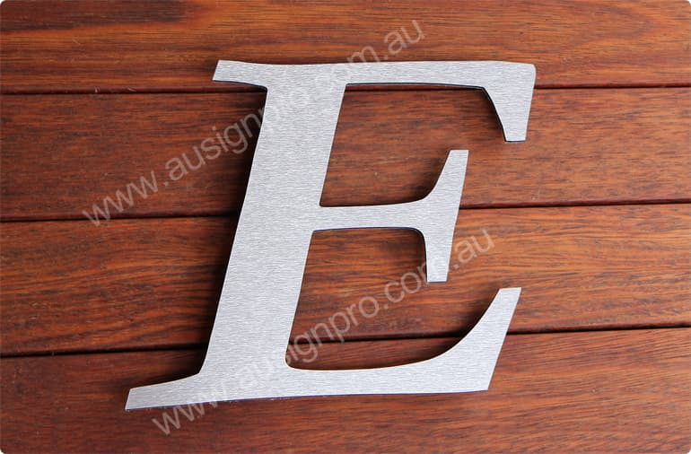 Aluminium Composite Panel Sign Letters