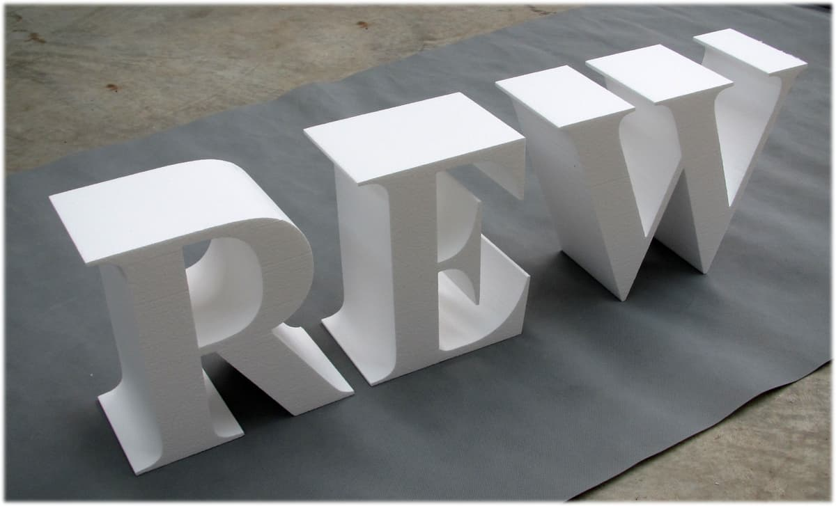 foam letters styrofoam letterseps foam lettersfree With 3d foam letters
