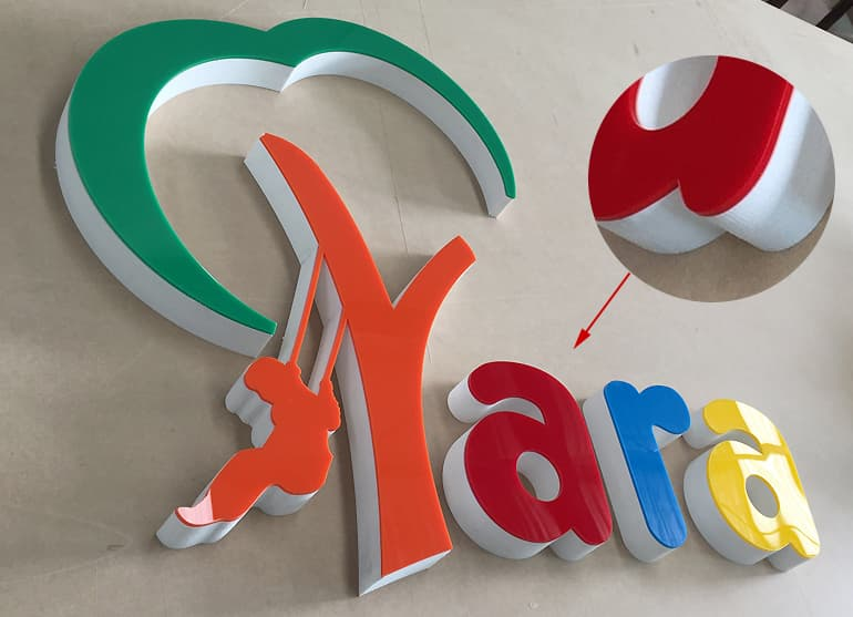 Pvc Letters Are Great Solution For Low Cost Amp Durable 3d