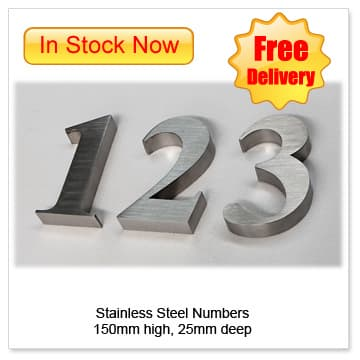 stainless-steel-house-number