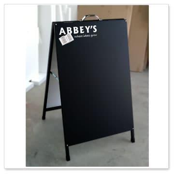 Blackboard Sandwich Board A Frames