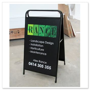 full handle blackboard-sandwich-board