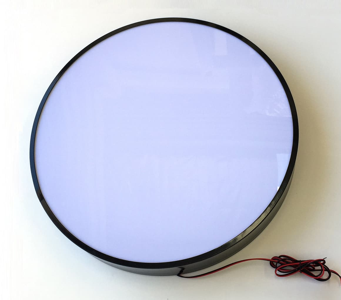 Buy Round Light Box From Manufactures 80cm Round Single