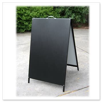 a board a frame signs snap open boards passway signage signages ...
