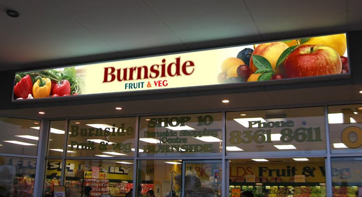 Shop Awning Light Box Signs Shop Front Signages Melbourne