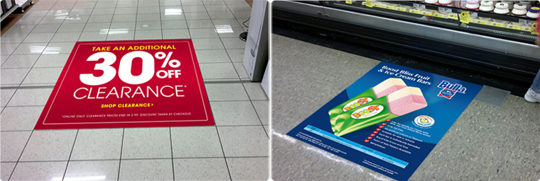 Great Floor Decals Floor Stickers Shopping Centre Floor Graphics