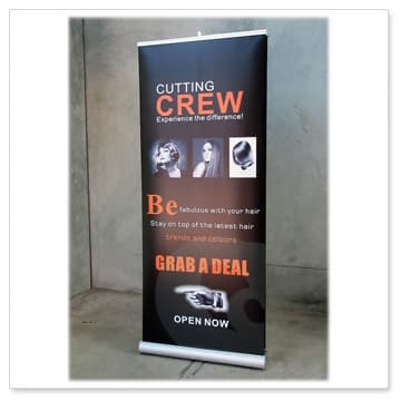 double sided pull-up-banner