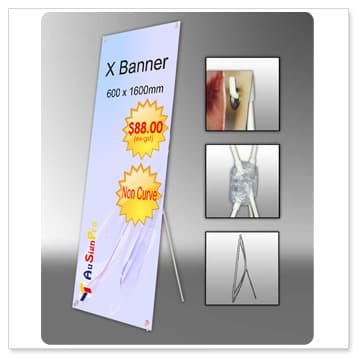 Pull Up Banner Roller Banners Exhibition Banner Stand