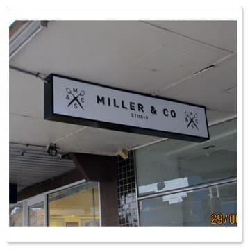 shop awning light box signs shop front signages melbourne ...