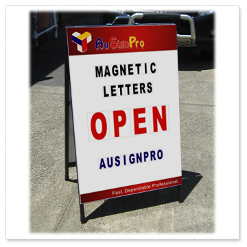 magnetic letter signs